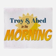 Troy and Abed in the morning Throw Blanket