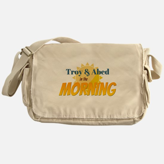 Troy and Abed in the morning Messenger Bag