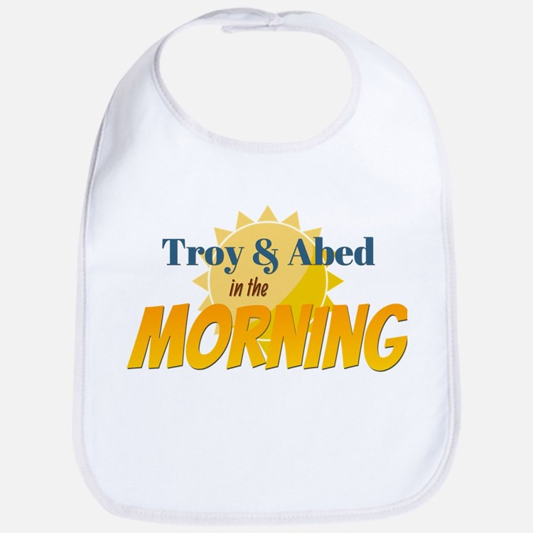 Troy and Abed in the morning Bib