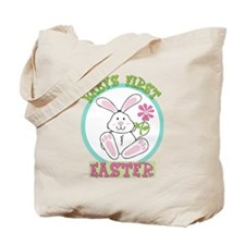 Babys First 1st Easter - New Baby Tote Bag