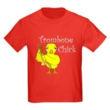Trombone Chick Text T