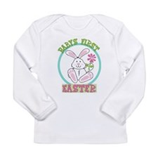 Babys First 1st Easter - New Baby Long Sleeve T-Sh