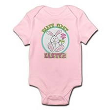 Babys First 1st Easter - New Baby Body Suit