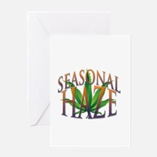 Seasonal Haze Greeting Cards