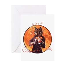 Canine Concerto #3 Greeting Card