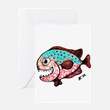 toothy2 Greeting Cards