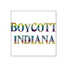 Boycott Indiana Sticker