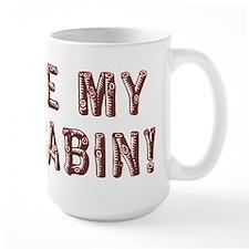 I Love My Log Cabin Mugs