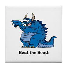 Unique Beast Tile Coaster