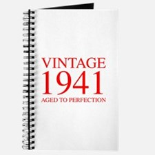 VINTAGE 1941 aged to perfection-red 300 Journal