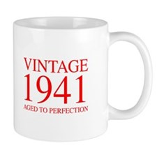 VINTAGE 1941 aged to perfection-red 300 Mugs