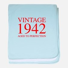 VINTAGE 1942 aged to perfection-red 300 baby blank