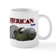 I Heart My American Rabbit Mugs