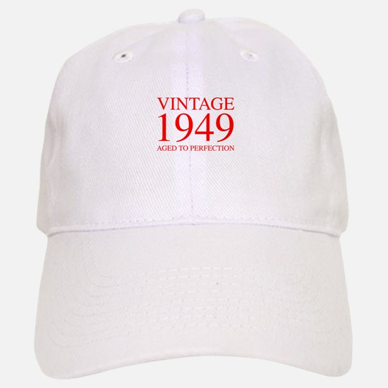 VINTAGE 1949 aged to perfection-red 300 Baseball C