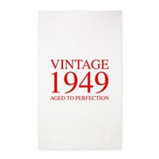 VINTAGE 1949 aged to perfection-red 300 Area Rug