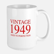 VINTAGE 1949 aged to perfection-red 300 Mugs