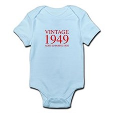 VINTAGE 1949 aged to perfection-red 300 Body Suit