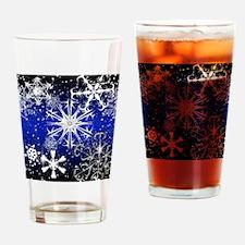Cute Snowflake Drinking Glass