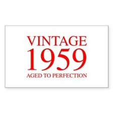 VINTAGE 1959 aged to perfection-red 300 Decal