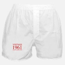 VINTAGE 1961 aged to perfection-red 300 Boxer Shor