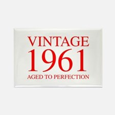 VINTAGE 1961 aged to perfection-red 300 Magnets