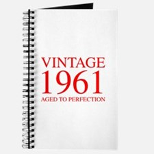 VINTAGE 1961 aged to perfection-red 300 Journal