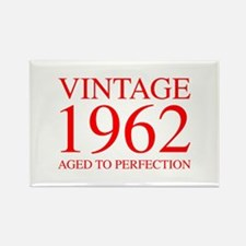 VINTAGE 1962 aged to perfection-red 300 Magnets