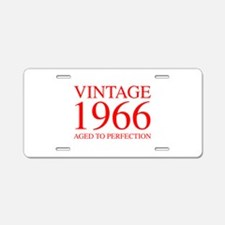 VINTAGE 1966 aged to perfection-red 300 Aluminum L