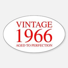 VINTAGE 1966 aged to perfection-red 300 Decal