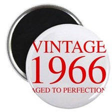 VINTAGE 1966 aged to perfection-red 300 Magnets