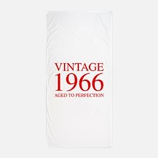 VINTAGE 1966 aged to perfection-red 300 Beach Towe