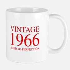 VINTAGE 1966 aged to perfection-red 300 Mugs