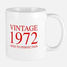 VINTAGE 1972 aged to perfection-red 300 Mugs