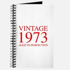VINTAGE 1973 aged to perfection-red 300 Journal