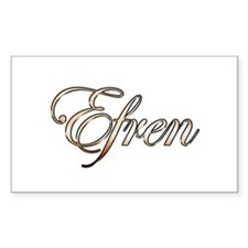 Gold Efren Decal