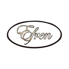 Gold Efren Patch