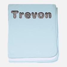 Trevon Wolf baby blanket
