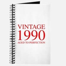 VINTAGE 1990 aged to perfection-red 300 Journal