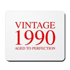 VINTAGE 1990 aged to perfection-red 300 Mousepad