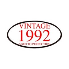 VINTAGE 1992 aged to perfection-red 300 Patch