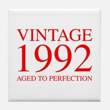 VINTAGE 1992 aged to perfection-red 300 Tile Coast