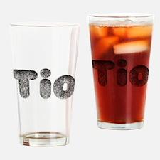 Tio Wolf Drinking Glass