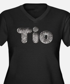 Tio Wolf Plus Size T-Shirt