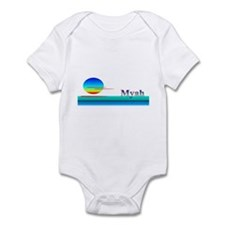 Myah Infant Bodysuit