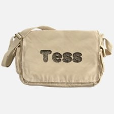 Tess Wolf Messenger Bag