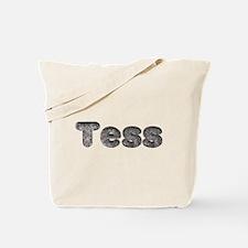 Tess Wolf Tote Bag