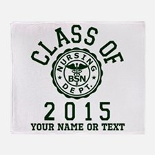 Class Of 2015 BSN Throw Blanket