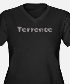 Terrence Wolf Plus Size T-Shirt