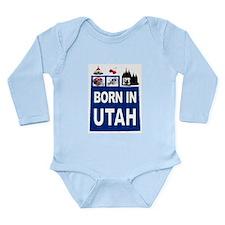 UTAH BORN Body Suit