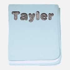 Tayler Wolf baby blanket